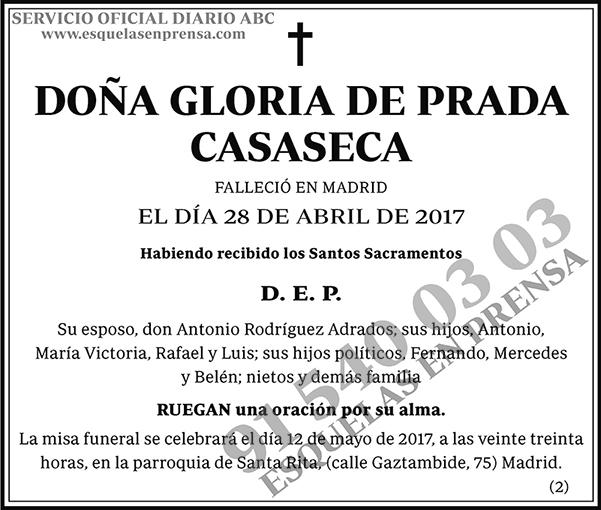 Gloria de Prada Casaseca